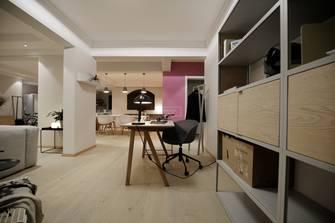 140平米三室两厅北欧风格书房设计图