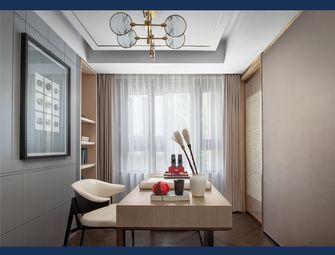 130平米三室一厅中式风格书房效果图