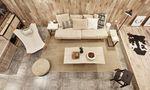 10-15万100平米复式北欧风格客厅装修图片大全