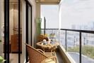 15-20万110平米三室两厅中式风格阳台装修案例