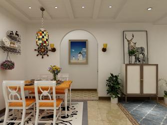 10-15万100平米三室四厅地中海风格餐厅图片