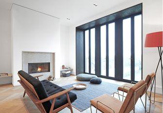 130平米三工业风风格客厅欣赏图