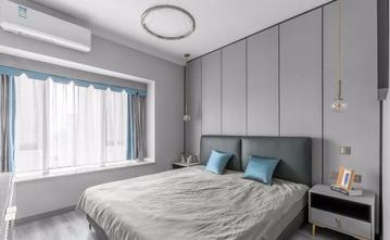 经济型100平米三室两厅欧式风格卧室图