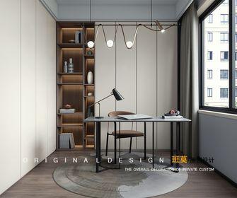 10-15万140平米四室两厅现代简约风格书房欣赏图