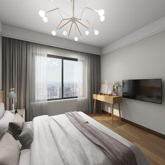 经济型50平米一居室北欧风格卧室图