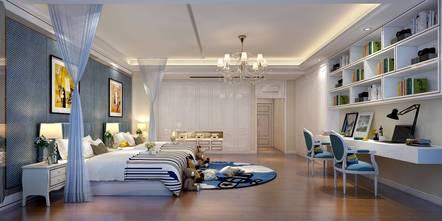 豪华型140平米别墅欧式风格青少年房欣赏图