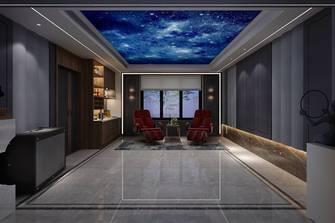 豪华型140平米别墅现代简约风格影音室装修效果图