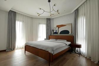 140平米四英伦风格卧室设计图