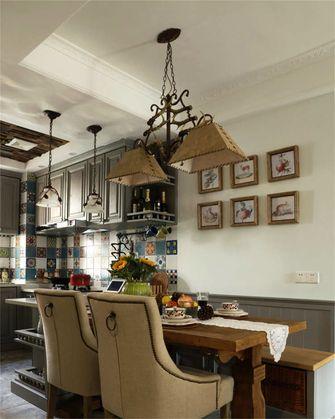 富裕型70平米三室两厅混搭风格餐厅图片