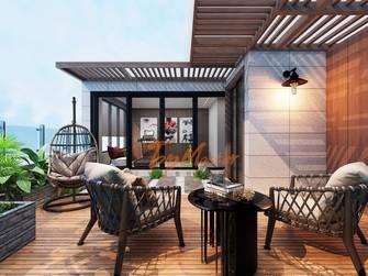 140平米别墅新古典风格阳台图片
