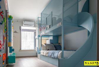 富裕型140平米四室两厅现代简约风格青少年房设计图