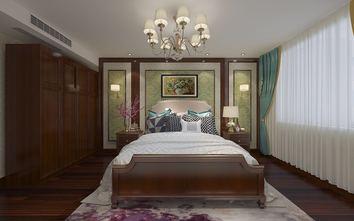 140平米三室两厅美式风格卧室装修图片大全