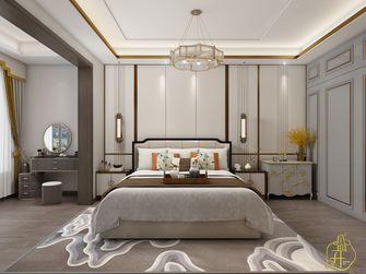 140平米四室四厅中式风格卧室装修效果图