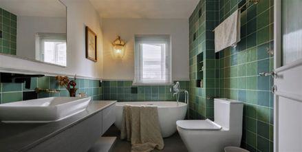 120平米三室两厅混搭风格卫生间装修效果图