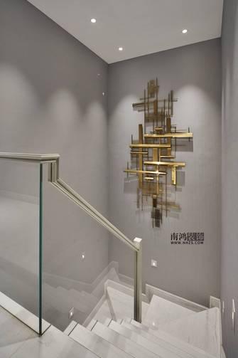 豪华型140平米别墅轻奢风格楼梯间设计图