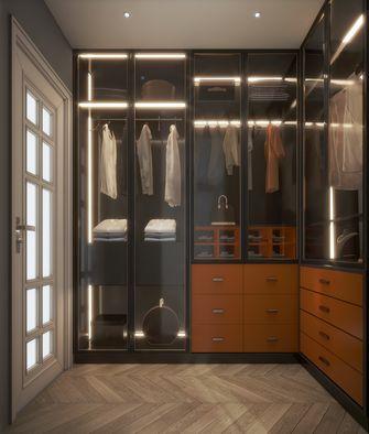 豪华型140平米三室两厅轻奢风格衣帽间装修图片大全