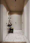 豪华型三室一厅现代简约风格玄关装修效果图