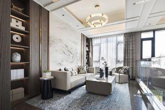 豪华型140平米四室一厅轻奢风格客厅图片大全