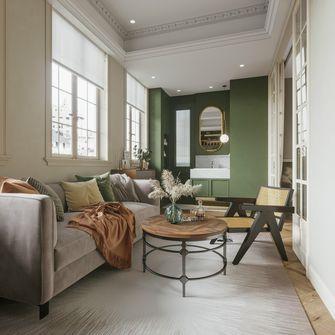 70平米法式风格客厅设计图