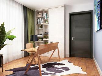 富裕型130平米三室两厅北欧风格书房装修效果图