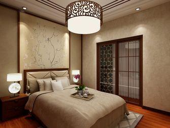 120平米三室两厅中式风格卧室图片
