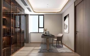 豪华型140平米四室两厅轻奢风格书房欣赏图