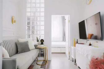 富裕型70平米地中海风格客厅图片
