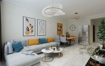 5-10万60平米现代简约风格客厅装修效果图