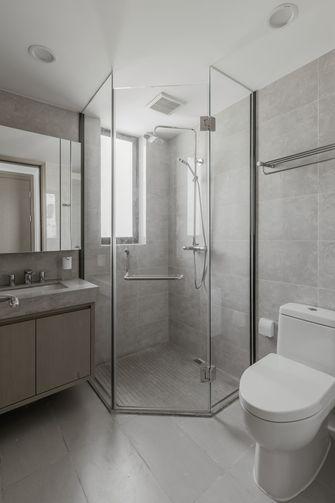富裕型80平米现代简约风格卫生间图片