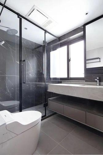 110平米四室两厅日式风格卫生间设计图