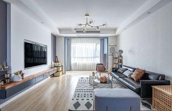 15-20万130平米四室两厅北欧风格客厅装修效果图