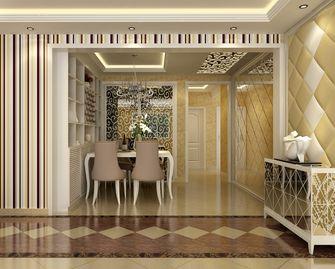 富裕型120平米三室两厅欧式风格餐厅设计图