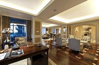 豪华型140平米别墅欧式风格餐厅图
