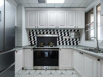 10-15万100平米三室两厅美式风格厨房设计图