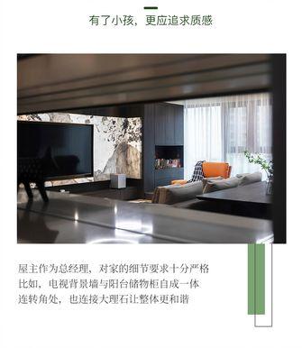 豪华型140平米四室两厅现代简约风格客厅装修案例