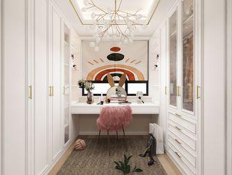 经济型140平米三室两厅轻奢风格衣帽间欣赏图