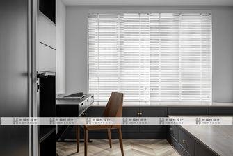 豪华型140平米三室三厅混搭风格书房装修效果图