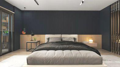 140平米一室两厅现代简约风格卧室装修效果图