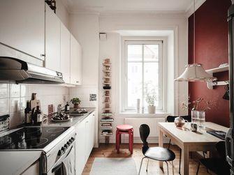 经济型50平米一室一厅混搭风格厨房装修效果图