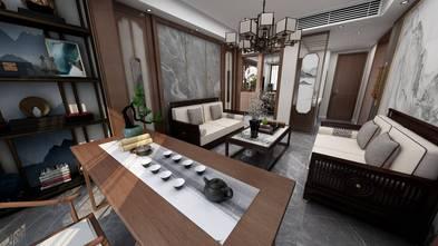 豪华型90平米三室两厅混搭风格书房欣赏图