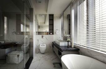 130平米三室三厅现代简约风格卫生间装修效果图