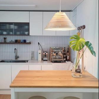 一室一厅北欧风格厨房装修效果图