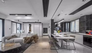 富裕型120平米三室两厅现代简约风格走廊图片大全