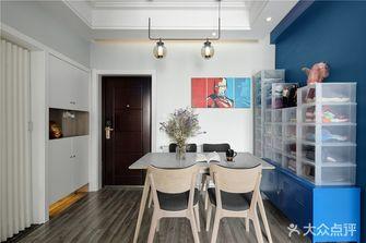 富裕型100平米三室一厅英伦风格餐厅欣赏图
