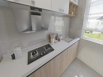 富裕型90平米三室两厅地中海风格厨房装修效果图