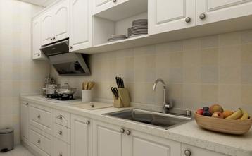 富裕型80平米地中海风格厨房效果图