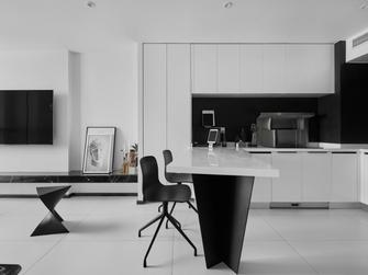 50平米复式现代简约风格餐厅图