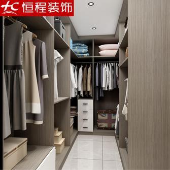 5-10万130平米三室两厅中式风格衣帽间装修效果图