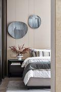 富裕型120平米三现代简约风格卧室装修效果图
