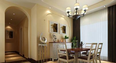 豪华型140平米四田园风格餐厅图片大全